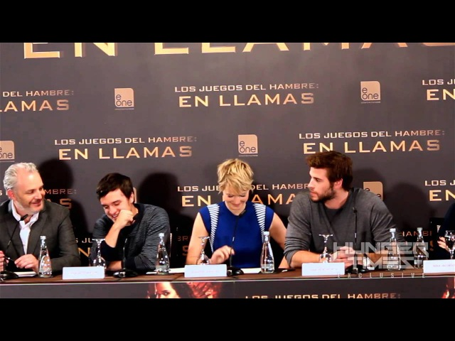 Hunger Times EXCLUSIVE: Jennifer Lawrence spills mints at 'Catching Fire' Madrid Press Conference