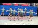 день курской битвы танец Смуглянка праздник город курск 2013