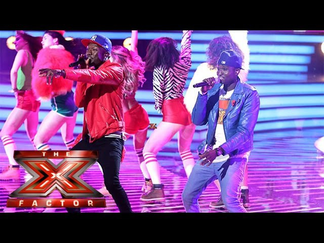 Reggie N Bollie cover Shaggys It Wasnt Me | Live Week 1 | The X Factor 2015
