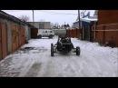 Самодельная багги из Оки. Готовность 85. Тест-драйв Home made buggy 85 done. Test drive