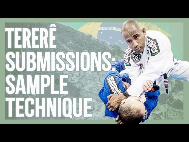 Favela Jiu Jitsu Sample Technique Overhook cross choke Fernando Terere