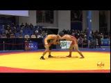 65 кг: Мурад Нухкадиев (Красноярск) - Улукман Маматов (Киргизия)