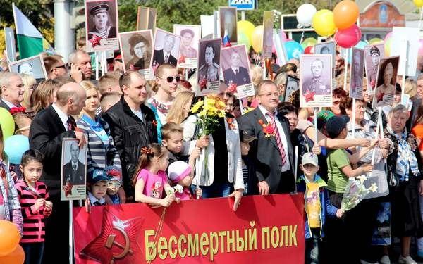 9 мая по Таганрогу прошагает «Бессмертный полк»