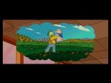 Гомер Симпсон и свинка