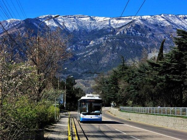 Поднимется стоимость проезда в троллейбусай Симферополя и Ялты. Волшебный Партенит