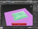 3ds max Modeling Pillow using Cloth simulation tutorial