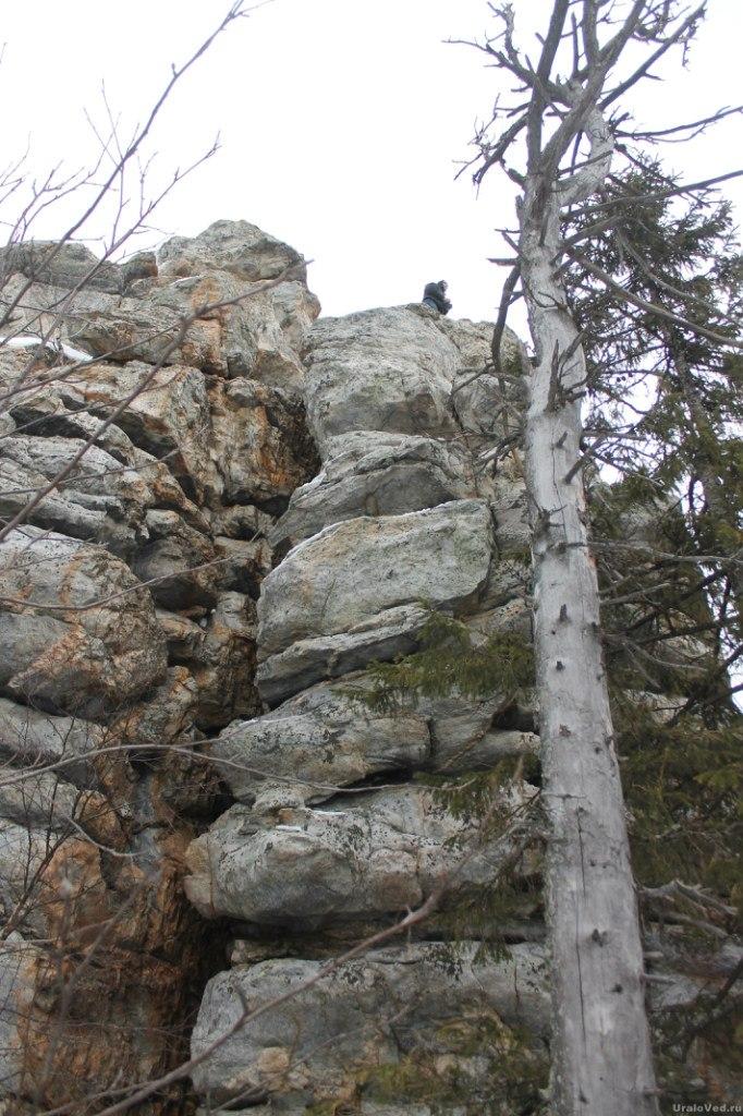 Скалы на Синей гору