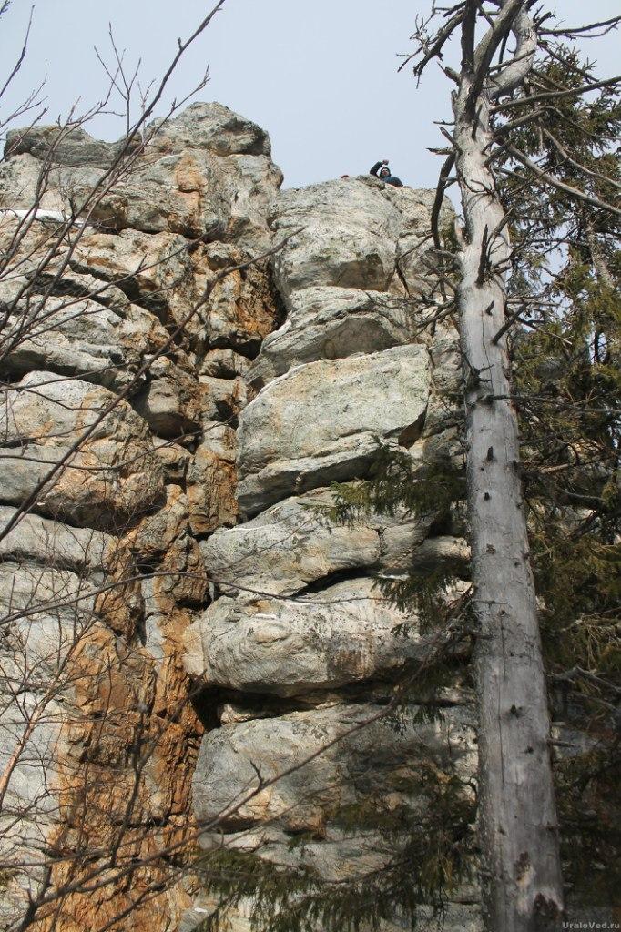 Скалы на Синей горе