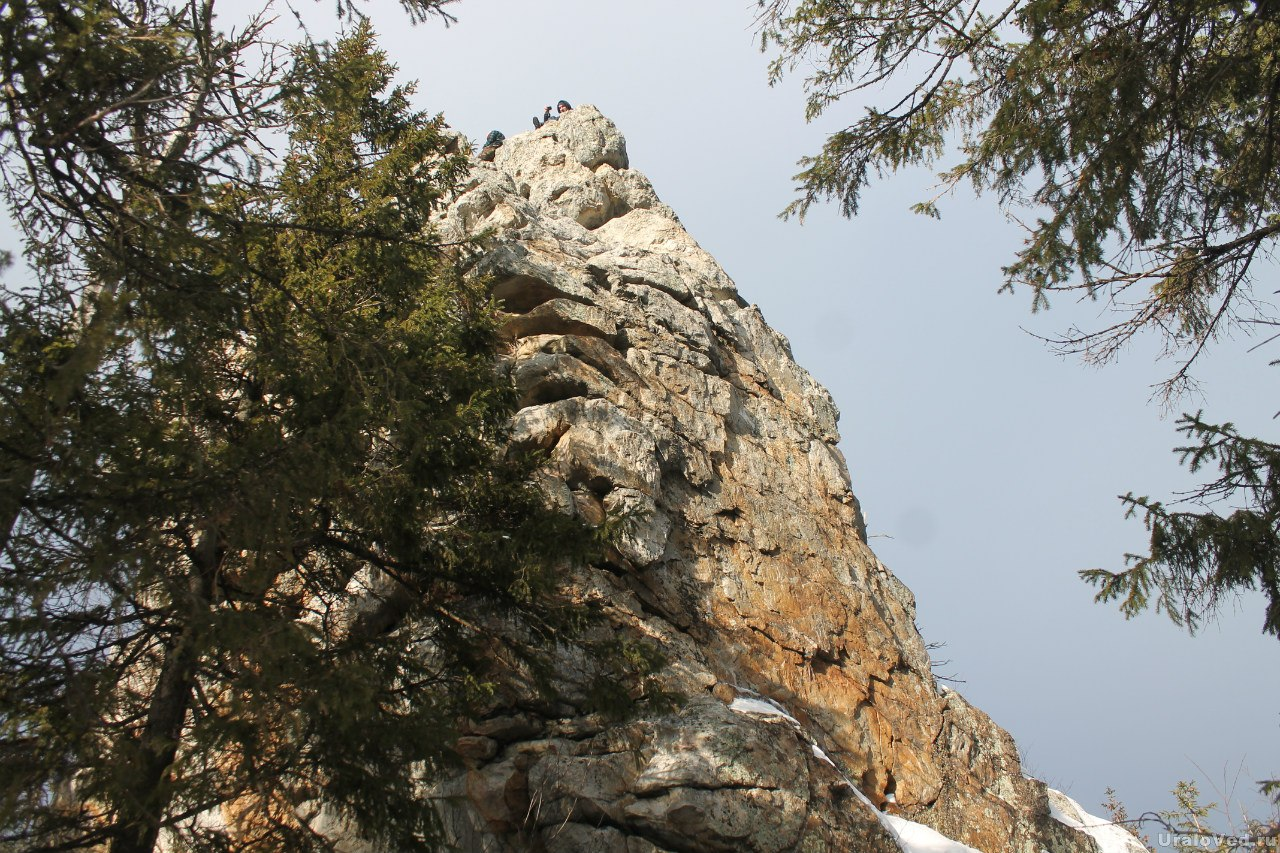 Синяя гора, скалы