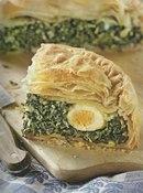 Фото рецепта: Пасхальный яичный пирог