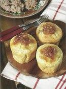 Фото рецепта: Йоркширский пудинг с карамелизированным луком