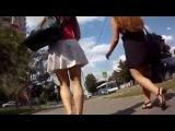 Самое эротическое видео на ютубе №16 Под юбкой в Москве under skirt красивые девушки стройные ножки