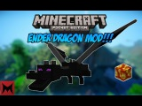 Скачать мод Ender Dragon для Minecraft Pocket Edition