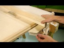 Homemade table saw fence