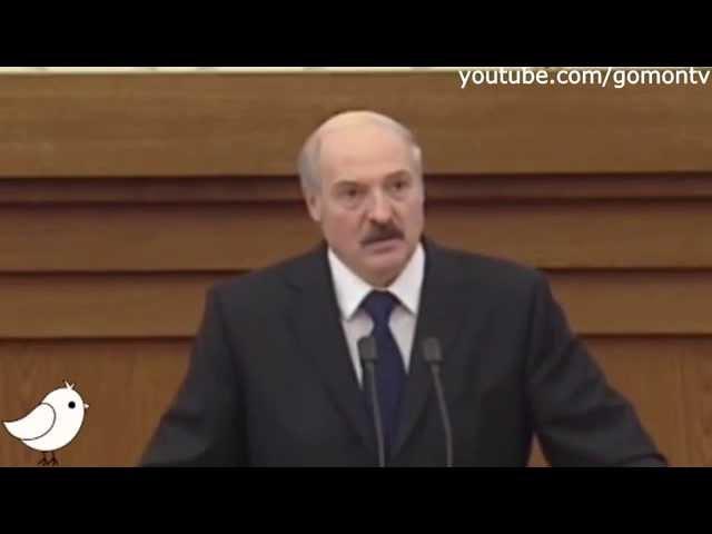 Лукашенко Ну зачем есть мясо с картошкой