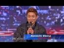 Kenichi Ebina Matrix Robotik Dancer Americas Got Talent 2013 Auditions