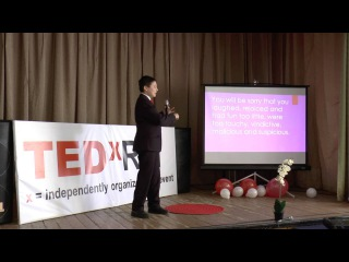 Mannanov Timur: My vision of how to be happy | TEDxRBL