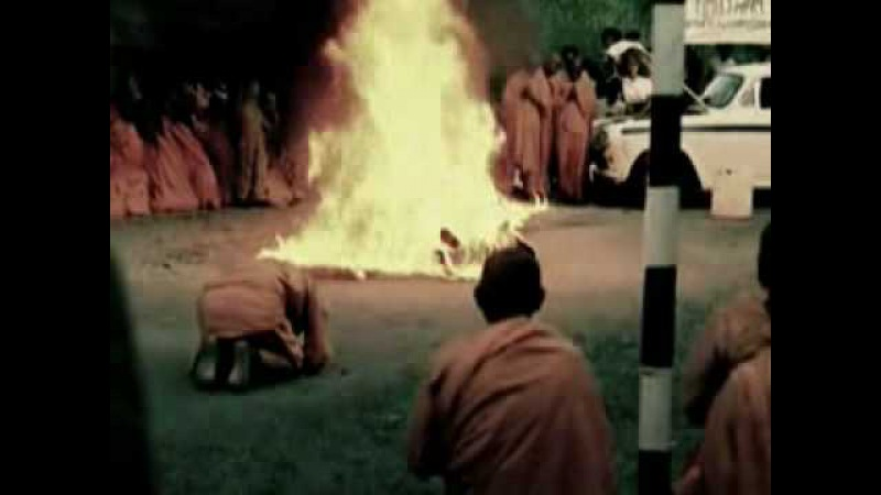 Акт самосожжения буддийского монаха