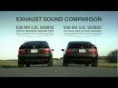 BMW E36 M3 S52B32 Sound comparison AA Track Pipe vs Stock Midpipe