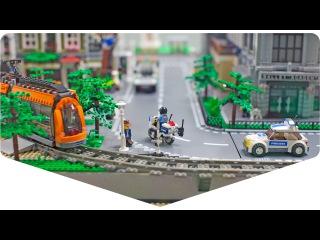 Мегабрикс - интерактивный макет из Лего