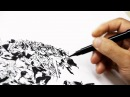 Kim jung gi : Awesome demonstration of drawing!