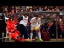 Cristiano Ronaldo empuja un recogepelotas Atlético 4 0 Real Madrid 2015
