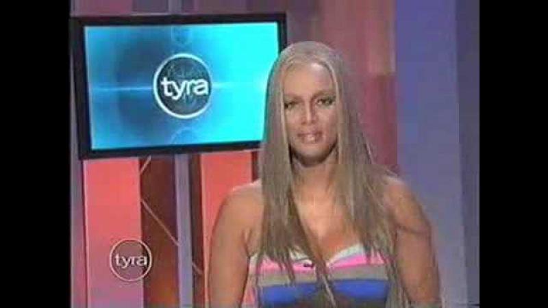 Tyra Banks KISS MY FAT ASS