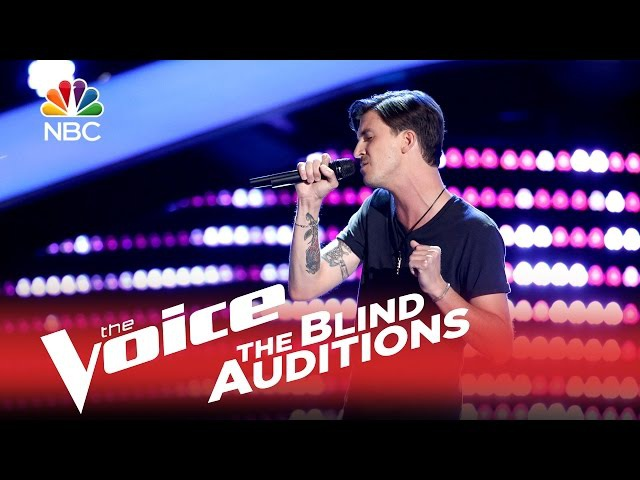 The Voice 2015 Blind Audition - Chase Kerby: The Scientist