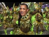 Шел Обама, увидел два банана! И тут такое началось! Барак танцует до упаду!