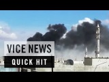 Airstrikes Cause Chaos and Destruction in Syrias Homs: VICE News Quick Hit