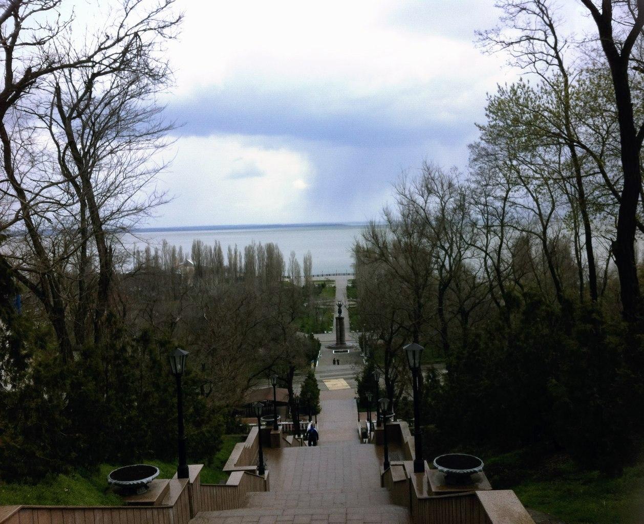 9 мая в Таганроге обещают дождь и +17