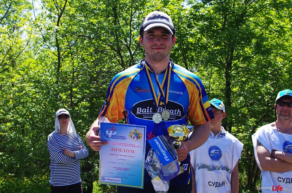 Изюмчанин стал призером соревнований по ловле хищной рыбы