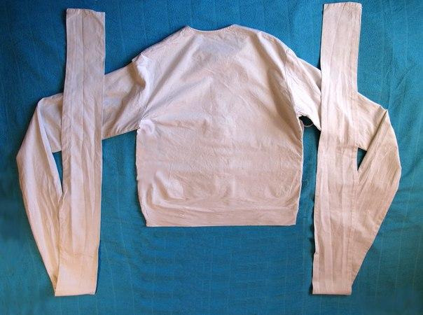 Как сшить смирительная рубашка 72