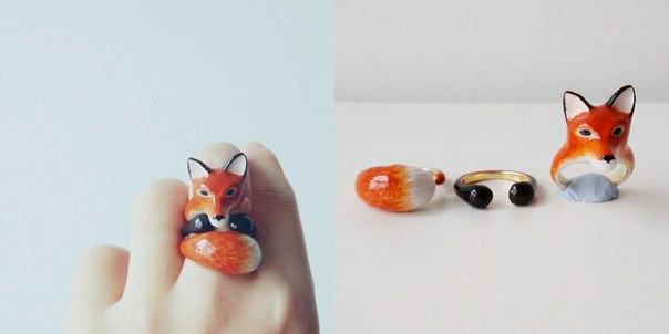 Картинки по запросу Бангкокский дизайнер создает кольца, которые в тандеме из 3 деталей превращаются в животных Вдохновение
