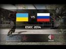 Russia - ESEC 2014 @de_overpass (1 map)