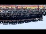 Китайские девушки на параде. ЖЕСТЬ !!! 1080p HD