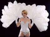 Tonya Kay's Peekaboo Feather Fan Burlesque