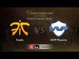 Fnatic -vs- MVP.Phoenix, TI5 Group A, Game 1