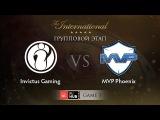 Invictus Gaming -vs- MVP.Phoenix, TI5 Group A, Game 1