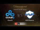 Cloud 9 -vs- MVP Phoenix, TI5 Group A, Game 1
