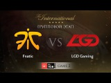Fnatic -vs- LGD Gaming, TI5 Group A, Game 2