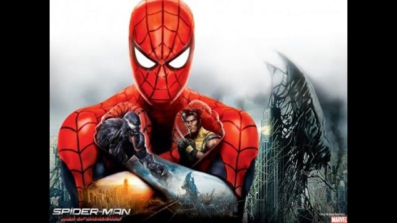 Spider-Man Web of Shadows. Ver.2. (Сюжетное видео, Sub-RUS)