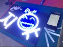 Making MinX's Jiyoo LED board / Making of 밍스 지유 LED 보드!