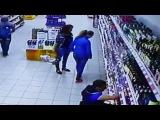 Веселье в магазине Магнит. Видеонаблюдение от simple-video.ru