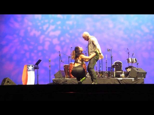ATACA Y LA ALEMANA SHOW PROMISE EN EL FESTIVAL INTERNACIONAL CON SENTIMIENTO DE MADRID 06 12 2013