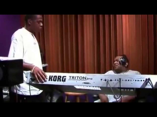 Inspiration: Jay-Z Timbaland in the Studio