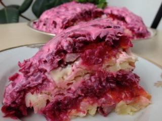 Селедка Под Шубой (Сочная и Вкусная) Пошаговый Рецепт Салат Шуба