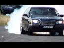 Mercedes S 600 V12 Biturbo 0-270km/h acceleration, and burnout || KO 860