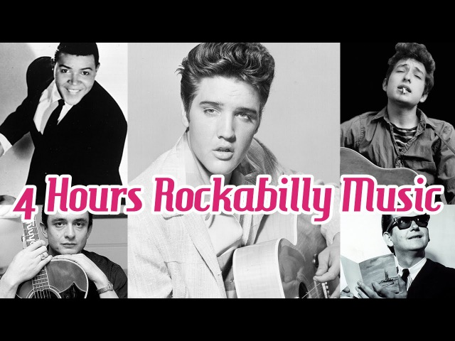 4 Hours of Rockabilly and Rocknroll Music! - Music Legends Book