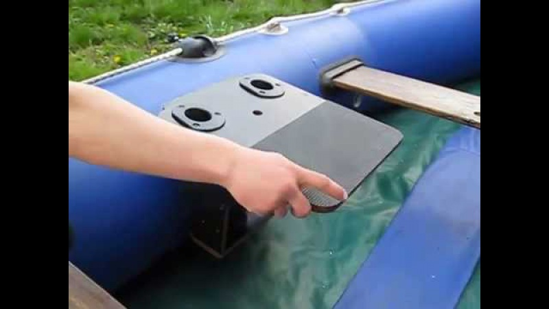 Столик для эхолота на лодку пвх своими